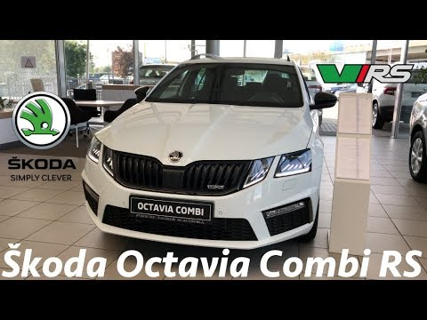 Skoda Octavia 3 Combi Rs Fl 2019 In Depth Review In 4k Ambient Lights