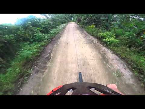 EDEN NATURE PARK, DAVAO CITY (phase 3) BIKE TRAIL september 2015
