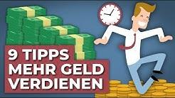 9 Tipps um mehr Geld zu verdienen | Finanzfluss