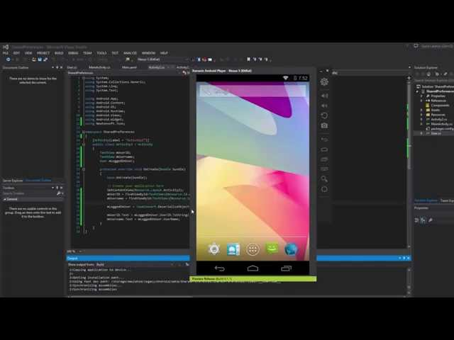 Xamarin Android Tutorial   32   Passing data with Activities