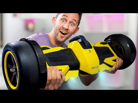 F1 Racing Hoverboard?! | DOPE or NOPE