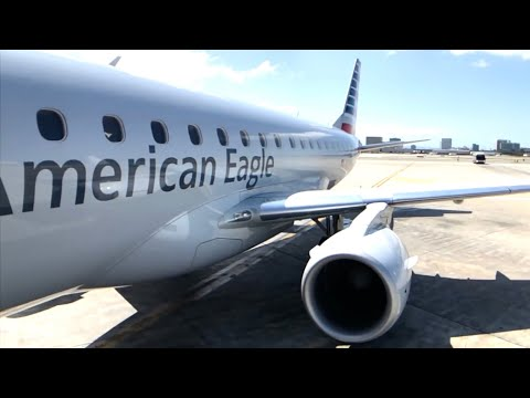 AMERICAN Airlines E175 ECONOMY Class: Los Angeles To Vancouver (BAD LEGROOM)