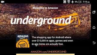what is AMAZON UNDERGROUND? Explained Walkthrough Tutorial FREE PREMIUM APPS 100%