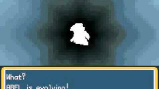 Pokemon Chaos Black: Abel Evolving into Yethrall