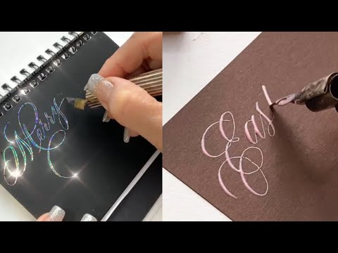 Calligraphy   Amazing coligraphy of lettering and drawing.