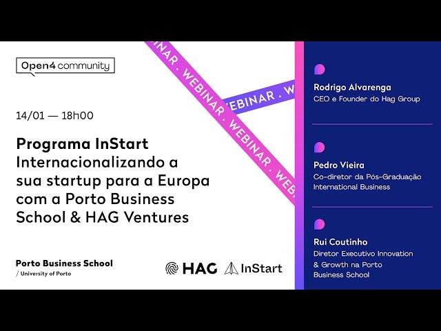 Webinar | Internacionalizando a sua startup para a Europa com....