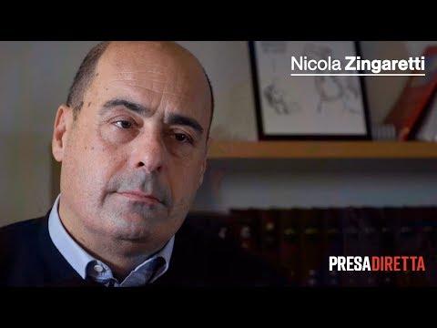 Nicola Zingaretti, il commento post-elezioni in Emilia-Romagna - Presadiretta 27/01/2020