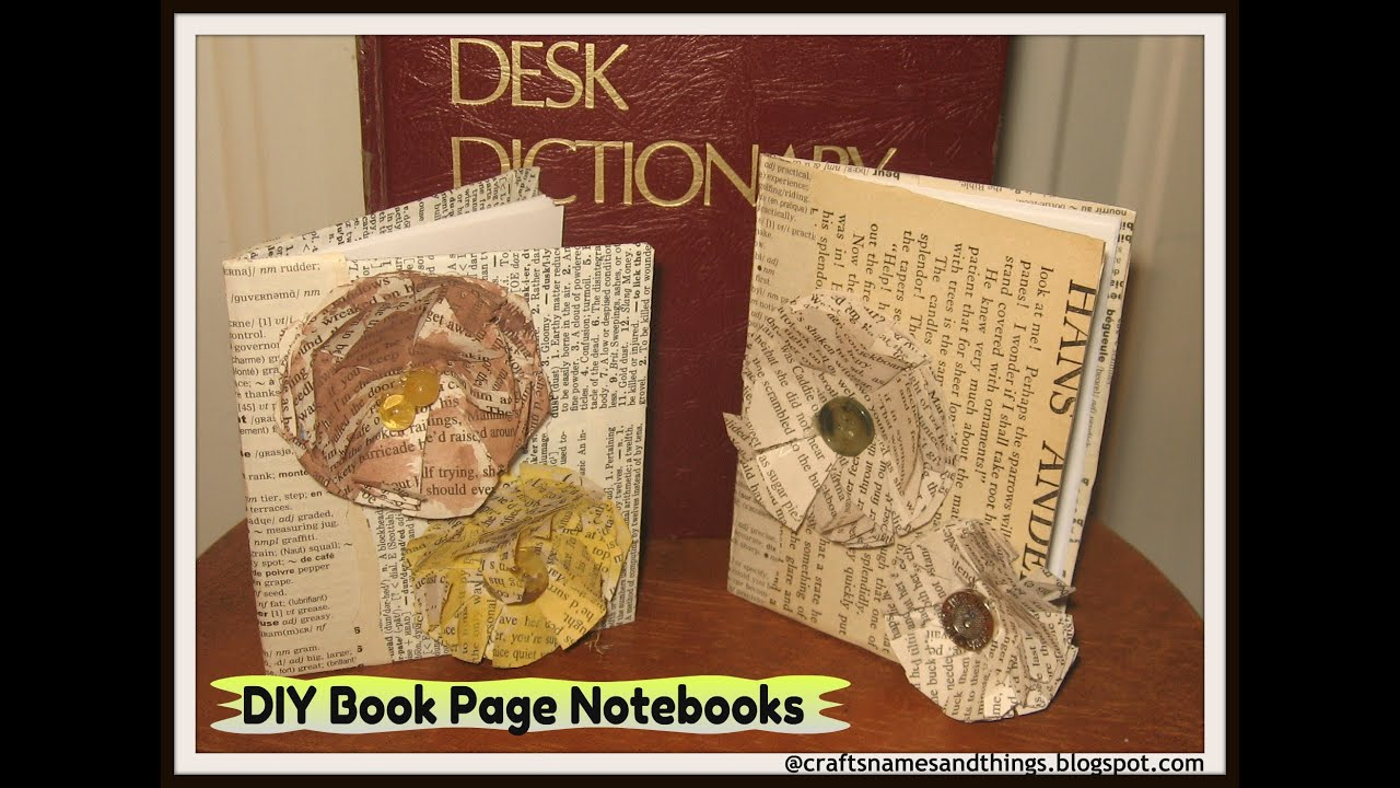 Diy Book Page Paper Flowers How To Make Elegant Rose Tutorial Pages Crafts
