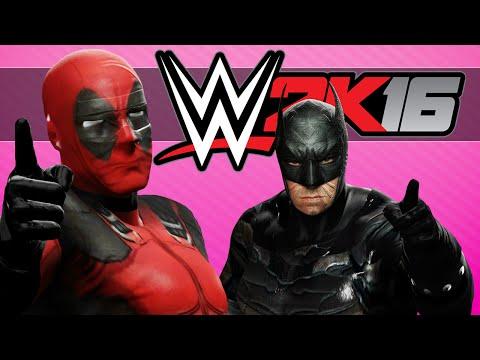 WWE 2K16 Funny Moments - MARVEL VS DC Fights!