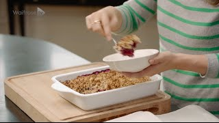 Deliciously Ella Blackberry And Apple Crumble For Waitrose
