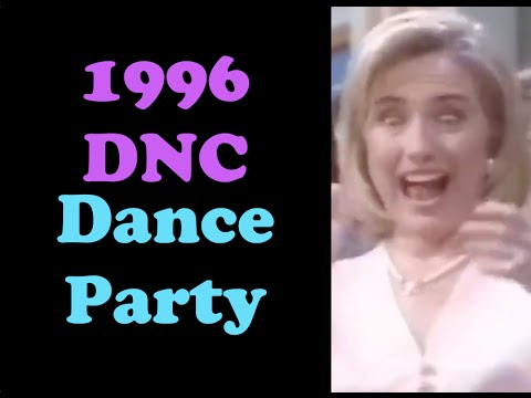 1996 Democratic National Convention Dance Party