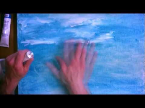 Рисунок пальцами №1