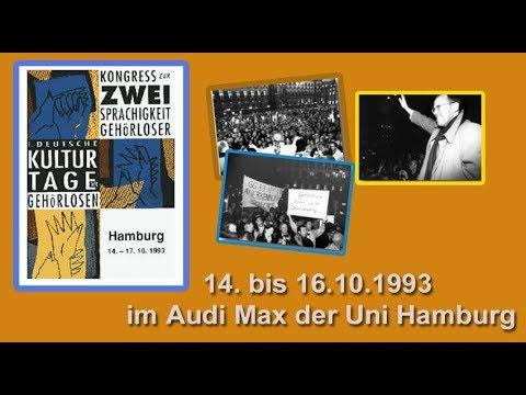 1.Deutsche Kulturtage  1993 in Hamburg ( Kurz Version!)