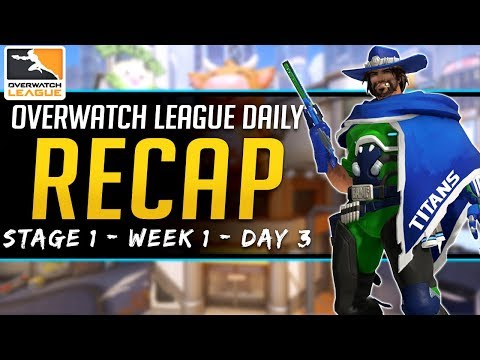 Overwatch League Daily Recap - Stich & Titans Dominate - 16 Feb 2019 Stage 1 Week 1 Day 3 thumbnail