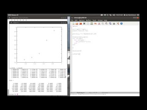 Octave/MATLAB® for Beginners, Part 2: Fitting Data and