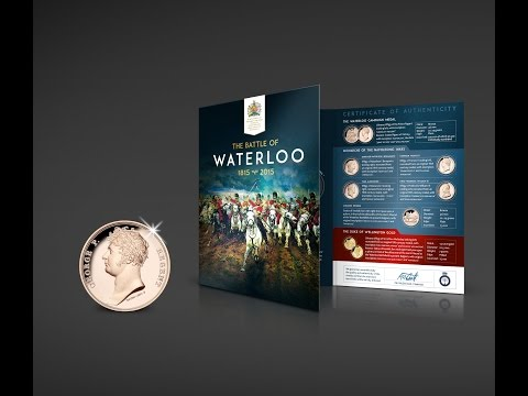 FREE Waterloo Medal With July 2015 Stamp & Coin Mart