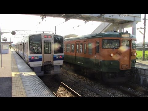 JR西日本 赤穂線 播州赤穂~東岡山 後面展望 JR West Akō Line Banshū Akō~Higashi Okayama Hintere Ausblick