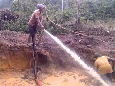Gold mining in mahdia guyana