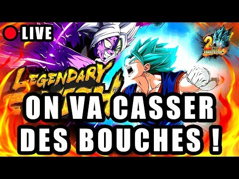 🔴 PVP avec VEGETTO BLUE LF DRAGON BALL LEGENDS