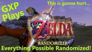 DIGGING FOR ITEMS || GXP Streams Legend of Zelda: Ocarina of Time RANDOMIZED