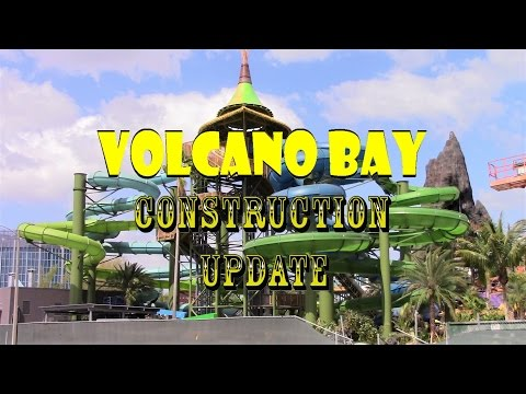 Universal Orlando Resort Volcano Bay Construction Update 4.24.17 One Month To Go, Will They Make It?