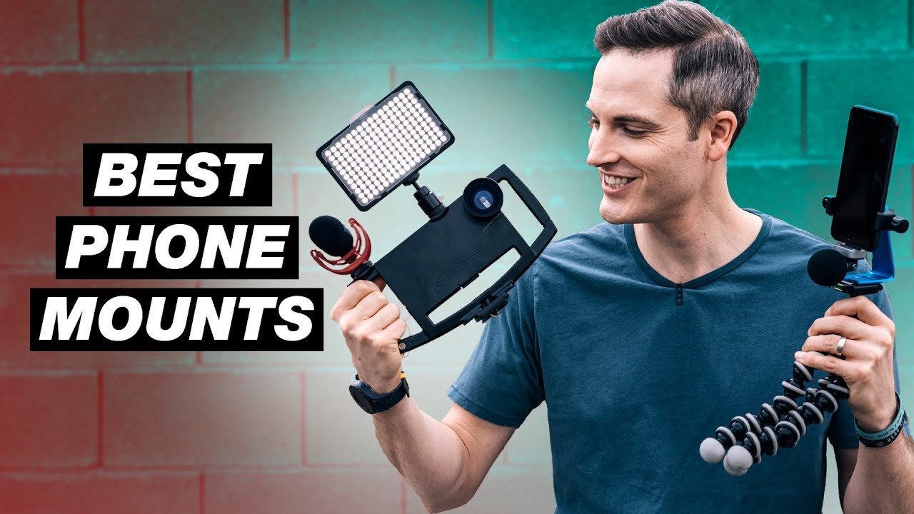 3 Best Smartphone Tripod Mounts