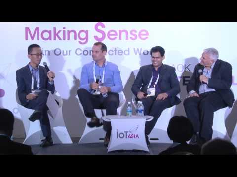 IoT Security panel at IoT Asia 2017