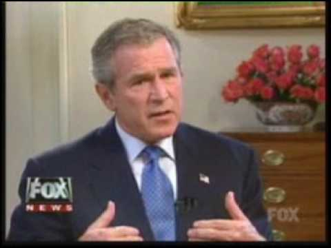 A Conversation With The President - George W Bush