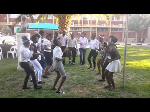 PyCon Namibia UNAM music team 04