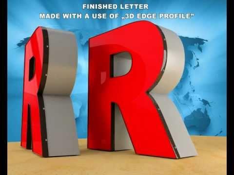 Channel Letters Part 2