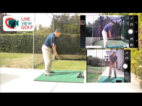 Using Two Live View Golf Cameras at the same time.