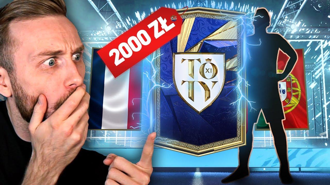 WYDAŁEM 2000 ZŁ NA PACZKI TOTY FIFA 21 I JESTEM W SZOKU.