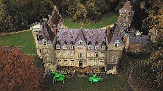 Exploring an old French Chateau