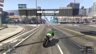 GTA 5 WORLD RECORD ON RACE