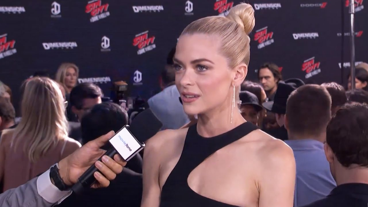 sin city: a dame to kill for' | jaime king on the red carpet - youtube