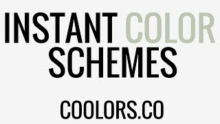 How to Make a Color Palette   Coolors.co