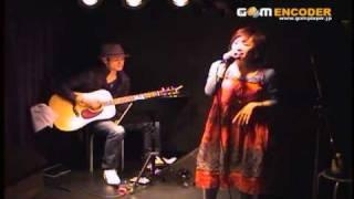 ライブで歌いました.