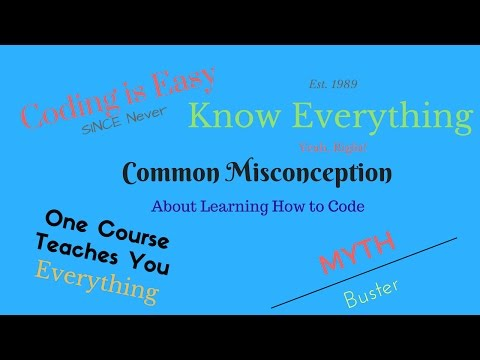 Common Misconception About Learning to Code + Motivation
