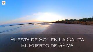 ATARDECER EN LA PLAYA DE LA CALITA (EL Puerto de Santa María, Cádiz)