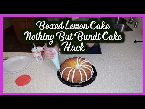 NOTHING BUT BUNDT CAKE HACK‼️BOXED CAKE MIX HACK‼️HOW TO MAKE A BOX CAKE TASE HOMEMADE‼️