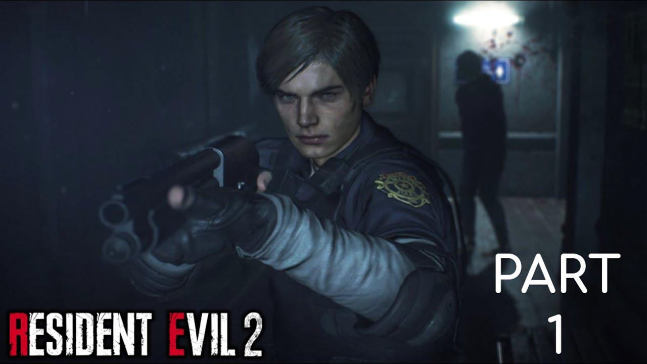 Resident Evil 2 Remake Part 1 - Leon S. Kennedy