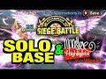Summoners War - Guardian Siege - SoLo Base + Monster Highlights of the Week!