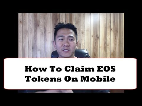 How to Claim EOS Tokens On Mobile with Metamask