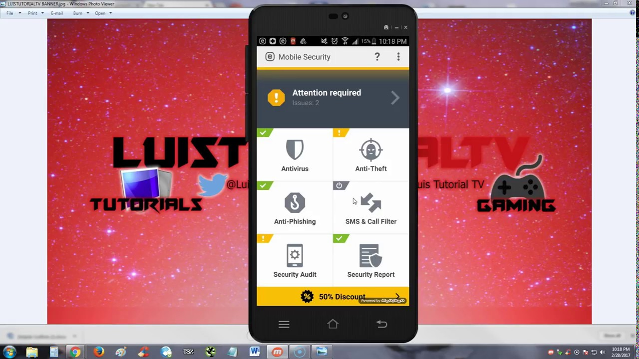 ESET Mobile Security and Antivirus ANDROID App Review and Tutorial