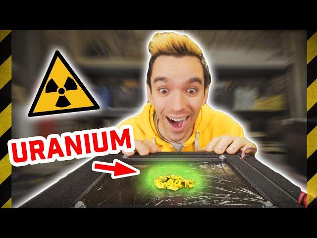 EXPÉRIENCES RADIOACTIVES AVEC DE L'URANIUM ! - [Science 2.0]
