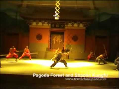 Pagoda Forest at Shaolin Temple with Shaolin Kung Fu
