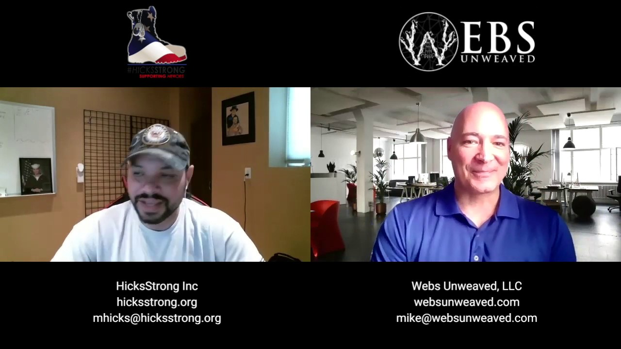 Interview with Mike from Webs Unweaved