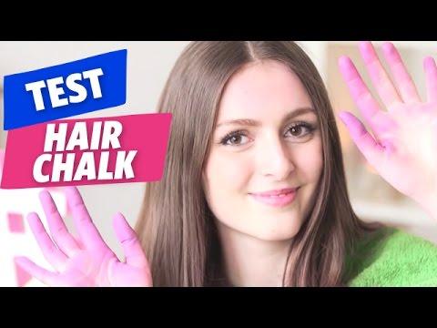 marine teste le hair chalk le kit de couleurs pour coloration youtube