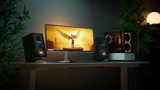 Minimalist Desk Setup Tour 2019 // Gaming x Productivity!