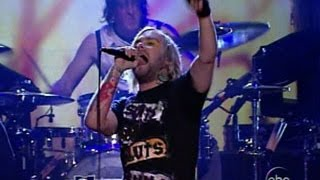 The Used - The Bird And The Worm LIVE on Jimmy Kimmel